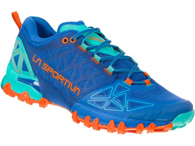 La Sportiva Bushido II Zapatillas running Mujer, azul